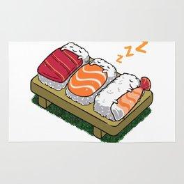 Sushi sleeping Rug