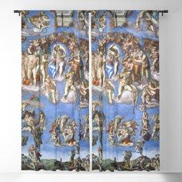 """Michelangelo """"Last Judgment"""" Blackout Curtain"""