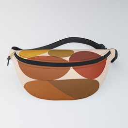Abstraction_Color_Pebble_Minimalism_001 Fanny Pack