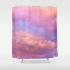 See the Dawn (Dawn Clouds Abstract) Shower Curtain