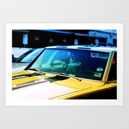 Dream Car. Art Print