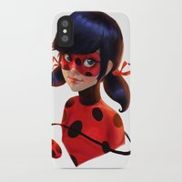 ladybug iPhone & iPod Cases featuring Ladybug by ChrySsV