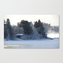 Cold Camp Canvas Print