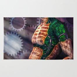 Man And Machine Rug