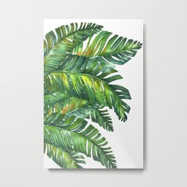 tropical green 2 Metal Print