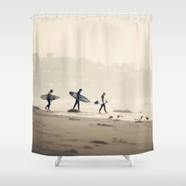 The Early Birds Shower Curtain