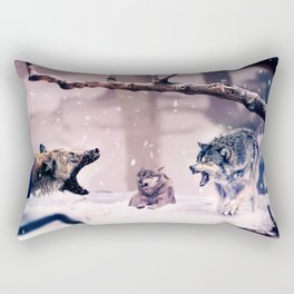 The Last Stand Rectangular Pillow