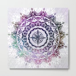Destination Mandala Metal Print