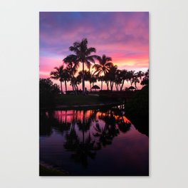 Sanibel Island Sunset at Pointe Santo Canvas Print