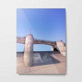 Sepulveda Dam Metal Print