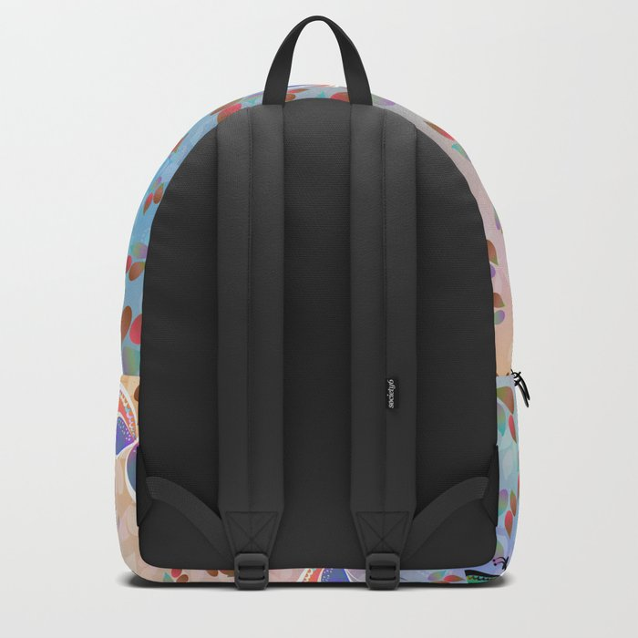 Butterflies and Leaves Backpack