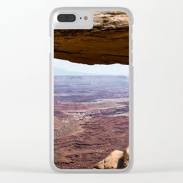 Canyonlands Arch Clear iPhone Case