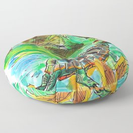 Turtle Perch Floor Pillow