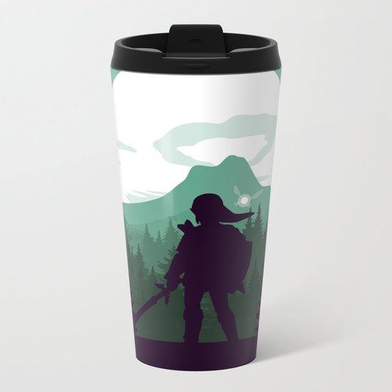 The Legend of Zelda - Green Version Metal Travel Mug