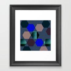 Art Rhombus Framed Art Print