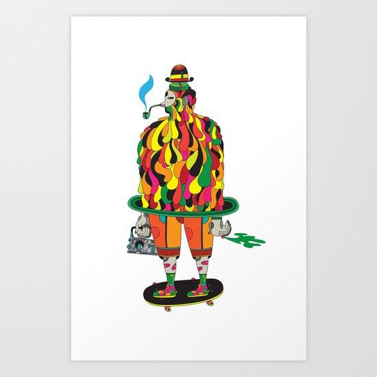 the big daddy Art Print