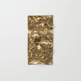 Gold Metal Hand & Bath Towel