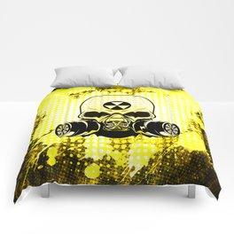 Guerrilla Nuclear Warrior Comforters