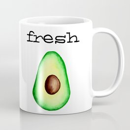 Fresh Avocado fr e sh a voca do Coffee Mug