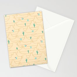 The Call of the Desert Stationery Cards