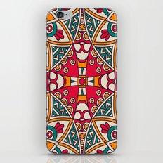 Bright Vibrant Colorful Bohemian Pattern iPhone & iPod Skin