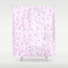 Winnie's Flowers Shower Curtain