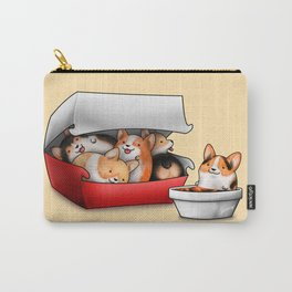 Corgi Nuggets Carry-All Pouch