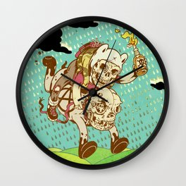 Anarchy Time Wall Clock