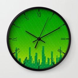 City Grunge Wall Clock