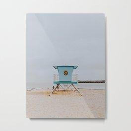 no lifeguard iv / santa cruz, california Metal Print