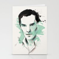 cumberbatch Stationery Cards featuring Benedict Cumberbatch by charlotvanh
