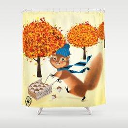 Acorn Industrialist Shower Curtain