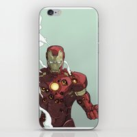 ironman iPhone & iPod Skins featuring Ironman by Dave Seguin