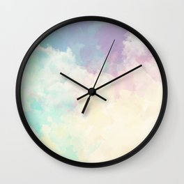 Sundara Dreamy Clouds Wall Clock