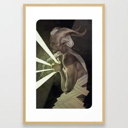 The Anchor Framed Art Print
