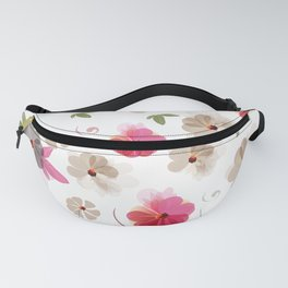 Cute soft spring pattern with flowers Fanny Pack
