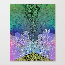 Wild Imagination Canvas Print