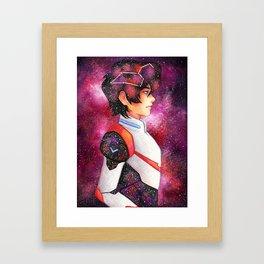 Galaxy Keith Framed Art Print