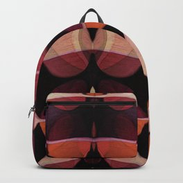 """Retro Rose Petals Abstract painting"" Backpack"