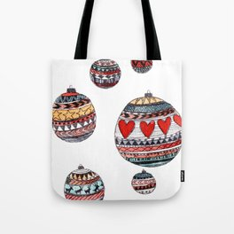 Baubles Tote Bag