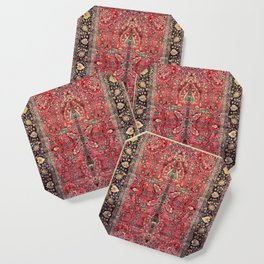 Antique Persian Red Rug Coaster