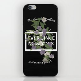Harry Styles Ever Since New York illustration iPhone Skin
