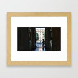 La Casa de la Arquitectura Framed Art Print