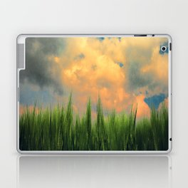 barley field Laptop & iPad Skin