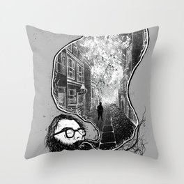 Ginsberg - Howl  Throw Pillow