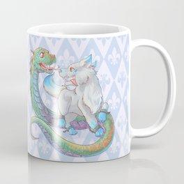 Baby Fenrir and Jörmungandr Coffee Mug