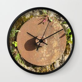Water Wins Wall Clock