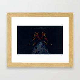 Vesuvius  Framed Art Print