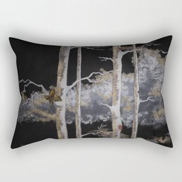 In The Brush Rectangular Pillow