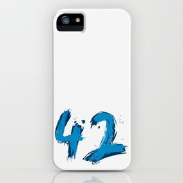 42 only iPhone Case